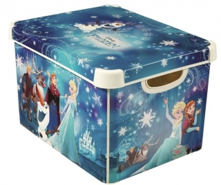 "CURVER úložný box DECOBOX - L, ""FROZEN"""